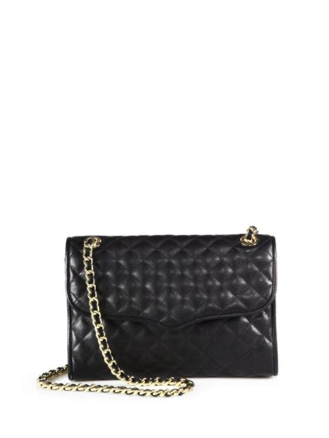 Minkoff Quilted Affair Black by Minkoff Quilted Affair Shoulder Bag In Black Lyst