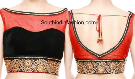 boat neck black blouse boat neck blouse south india fashion