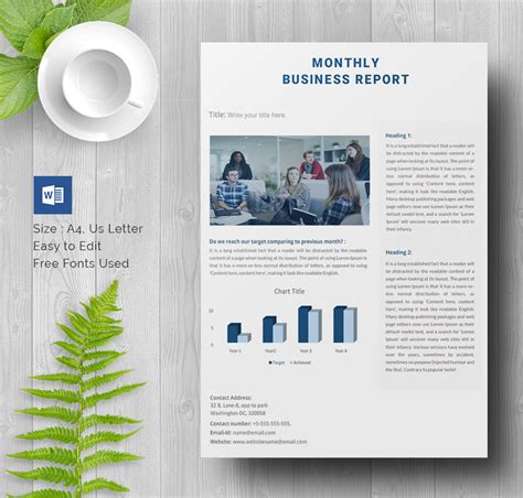 report template 35 business report template free sle exle