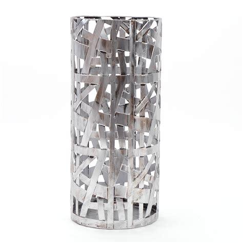 kerzenständer silber modern moderner schirmst 196 nder quot chicago quot silber 50 cm metall