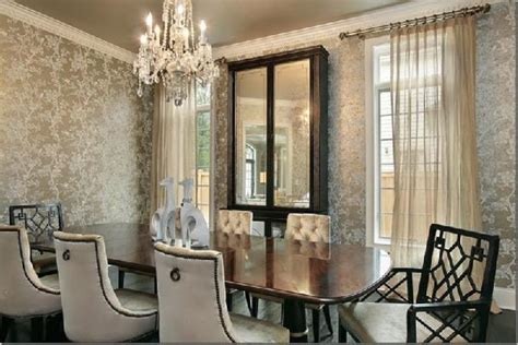 Wallpaper In Dining Room by Walls Wallpaper Inspiration Dining Room