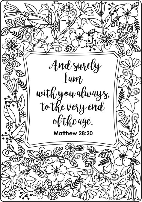 adult colouring page bible verse matthew by 261 best images about words colouring pages for adults on