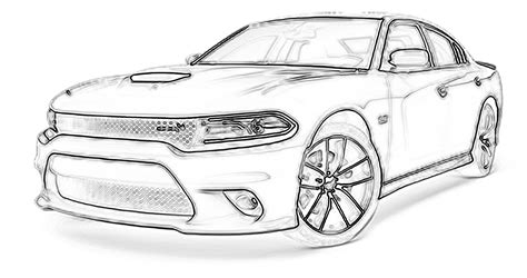 dodge car coloring page dodge charger coloring pages coloring home