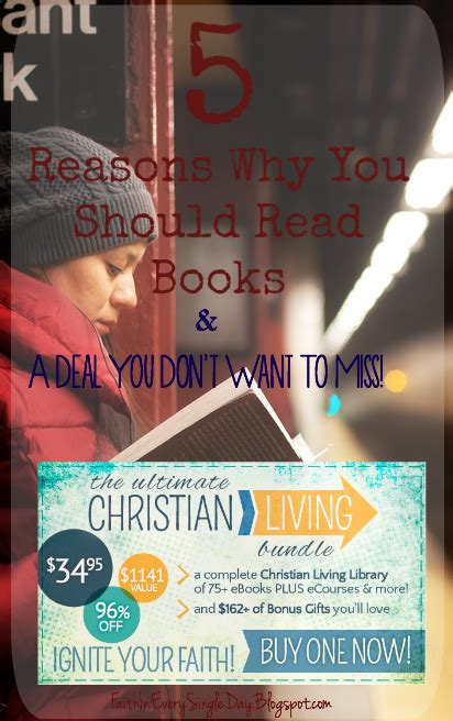 9 Reasons Every Should Read by Faith In Every Day Glorifying God In Everything We Do