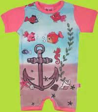Romper Baby Motif Fish comfykid