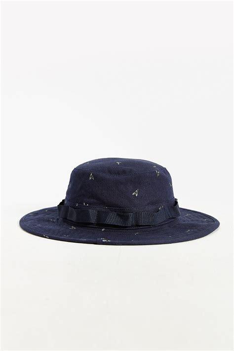 Zoonie Hats Blue Grass vans boonie hat in blue for lyst