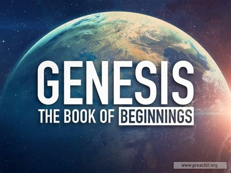 what is the book of genesis sermon by topic genesis the book of beginnings