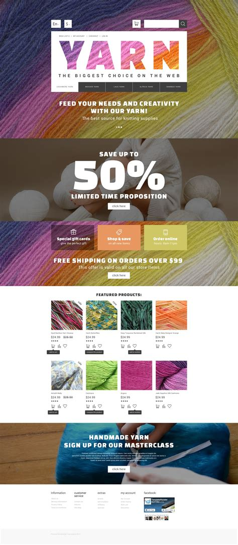 Hobby Shop Opencart Template Yarn Shop Business Plan Template