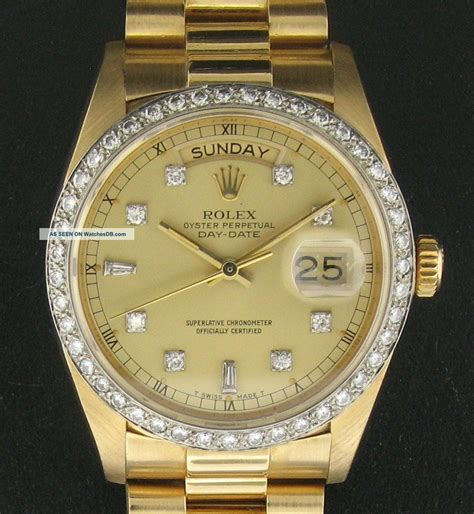 Mens gold rolex images for gold rolex watch with diamonds for men