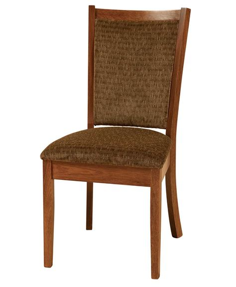Amish Oak Dining Chairs Kalispel Dining Chair Amish Direct Furniture