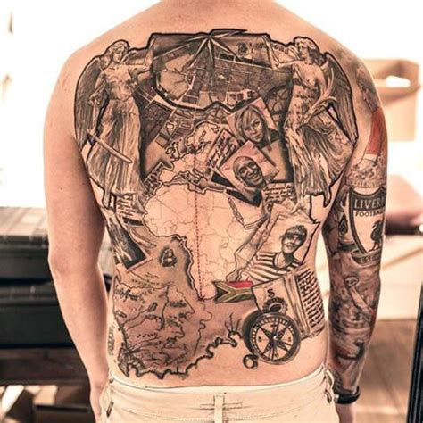 travel themed tattoos 75 travel tattoos for adventure design ideas