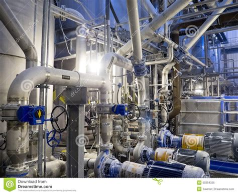 What Industry Is Plumbing by Industrial Stainless Steel Piping Stock Photo Image