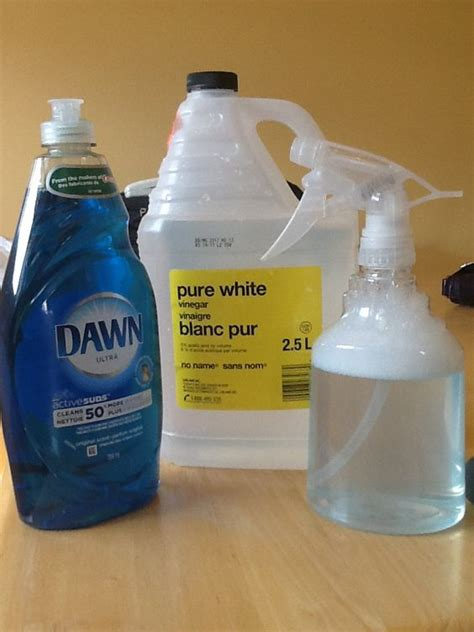 Clean Bathtub With Vinegar And Dish Soap by Diy Window Cleaner No More Need For Windex Also Works