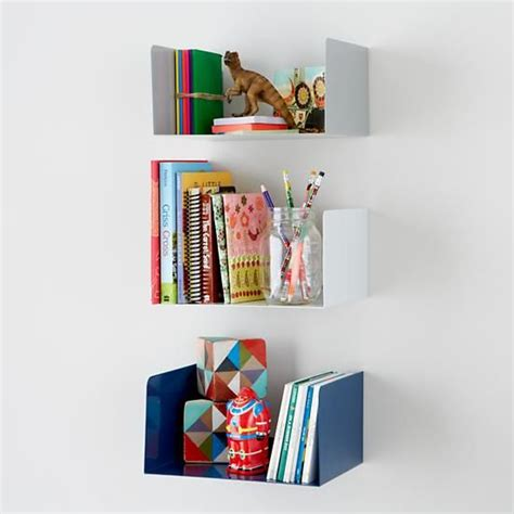 the land of nod up against the wall shelf in shelf