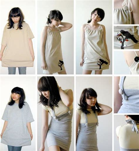 Upcycle Old Clothes Ideas - diy dress up ideas 5 ways to upcycle old clothing