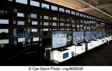 bid electronics stock image of big electronic retail store europe italy