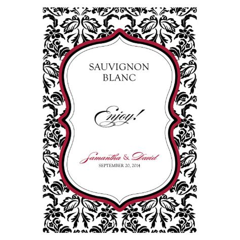 wine label template personalized wine labels custom wine labels san