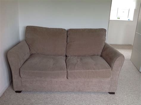 Debenhams Sofa by Debenhams Velour Fyfield Sofa Bed Barely Used In