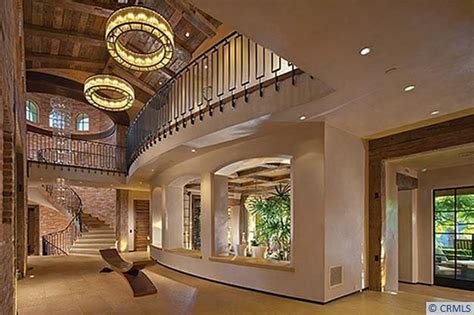 Mediterranean Style Homes Interior by 10 000 Square Foot Mansion In Irvine Ca With Rustic