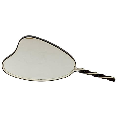 black and white mirror organic shaped black and white mirror for sale at 1stdibs
