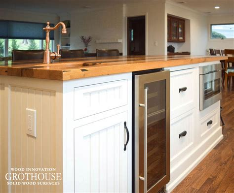 reclaimed kitchen island reclaimed chestnut kitchen island counter in sea cliff ny