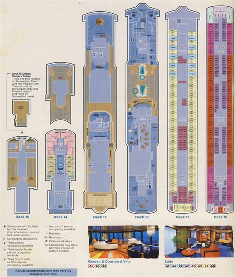 norwegian jewel floor plan norwegian jewel deck plan