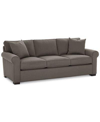 macys sofas kenton 88 fabric sofa created for macy s