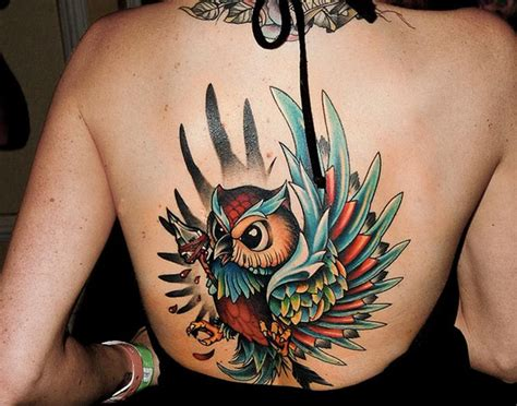 pictures of owl tattoos owl designs slideshow
