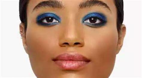 Eyeshadow Biru rias mata dengan polesan warna biru siapa takut