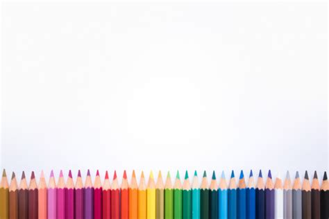 foto cornice gratis cornice di matite colorate scaricare foto gratis