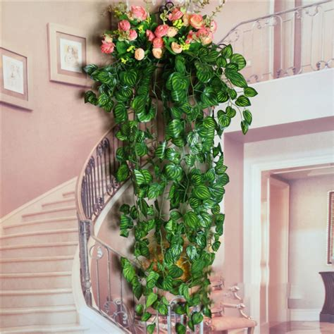 artificial plants for home decor 1pc artificial ivy leaf plants home decor green garland