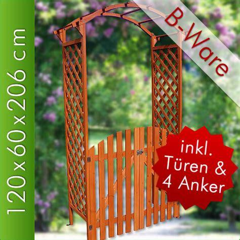 Rosenbogen Mit Tor Holz 953 by B Ware Legno Arco Per Con Porta Cancello Pergola Arco