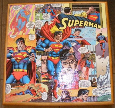 more comic book decoupage
