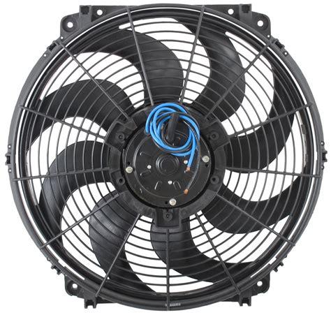 derale electric fan controller compare derale 16 quot vs flex a lite 16 quot etrailer com