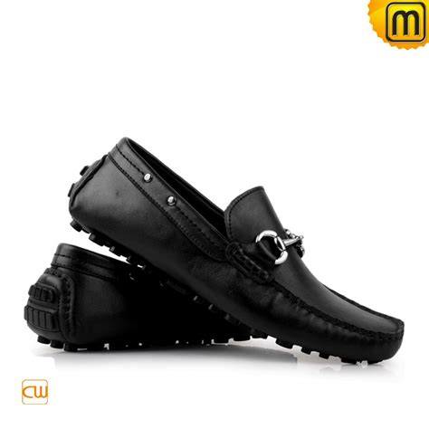 black loafers mens black brown leather loafers cw709098