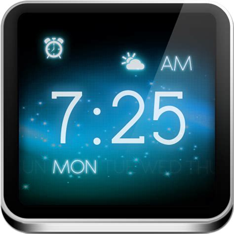 Nightstand App Android by Antair Nightstand Alarm Clock Weather News