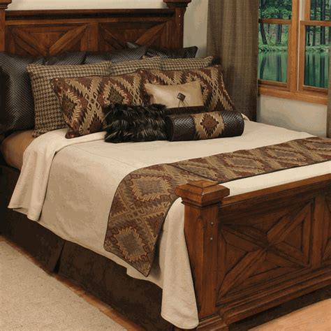 Western Bedding Sets King Western Bedding King Size Iroquois Coverlet Set Lone Western Decor