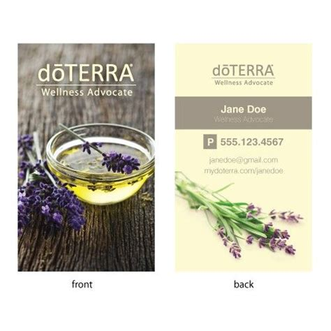 Doterra Gift Card - 25 best ideas about doterra business cards on pinterest buy business cards where