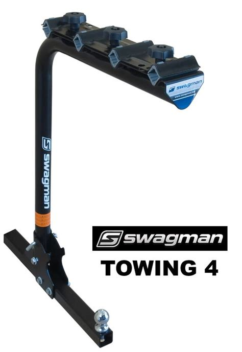 Bike Rack For Tow Hitch by Swagman 64675 Towing Trailer Hitch 4 Bike Racks