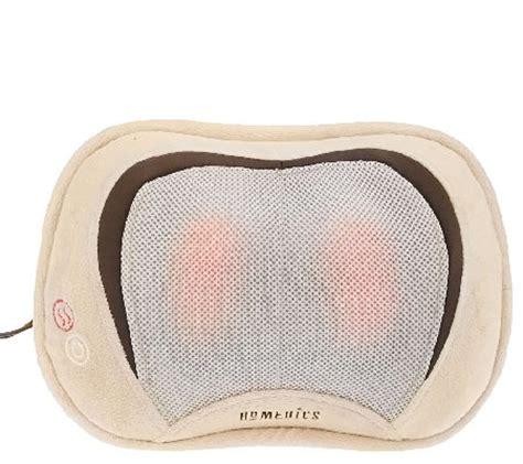 Homedics Shiatsu Pillow With Heat by Homedics 3d Shiatsu Pillow With Heat Page 1