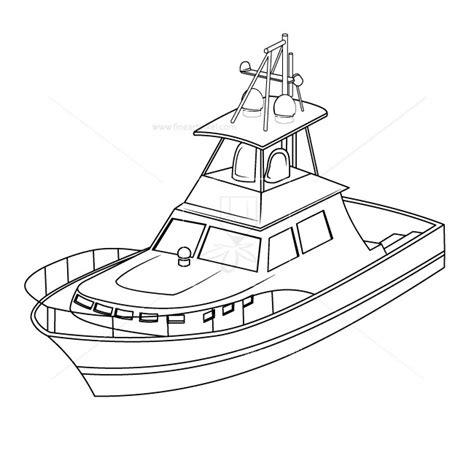 boat drawing lines boat line art free vectors illustrations graphics