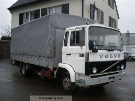 volvo   lbw suspension leaf net    stake body  tarpaulin truck photo  specs
