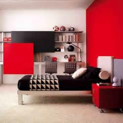superior Decoration De Chambre De Fille #1: chambre-d-enfant-les-nouveautes-fille-ou-garcon-noir-et-rouge.jpg