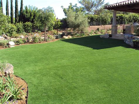 synthetic grass escondido synthetic backyard putting greens