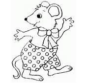 Desenhos De Ratinhos Para Colorir  Pintar E Imprimir