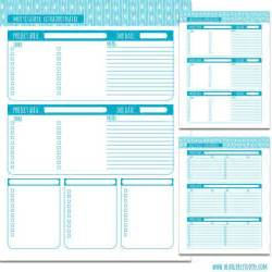 Project Planners by Multitasker Printable Project Planner Pages Beargirlstories 2 00