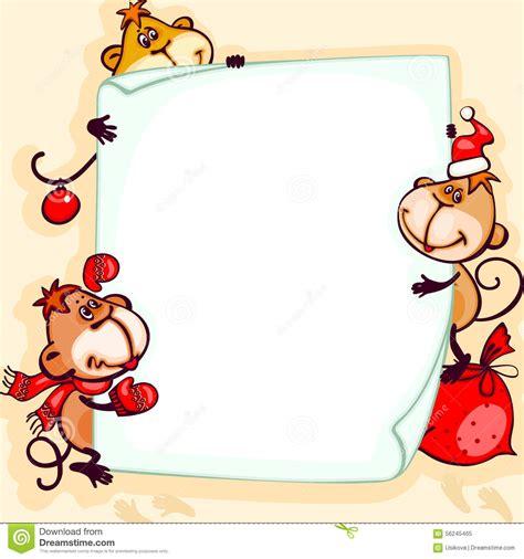 new year monkey birth years banner 2016 monkey stock vector image 56245465