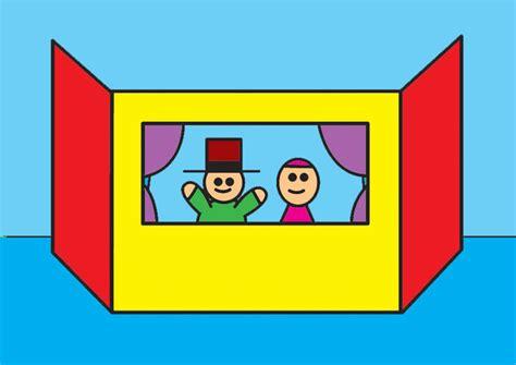 image coin du th 233 226 tre de marionnettes dessin 26810