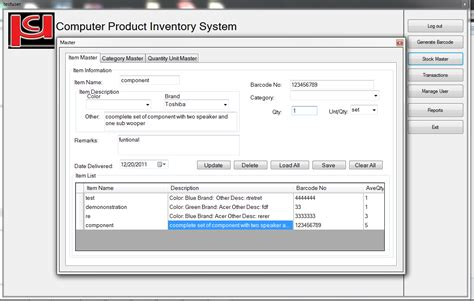 thesis abstract for inventory system sle thesis proposal for inventory system