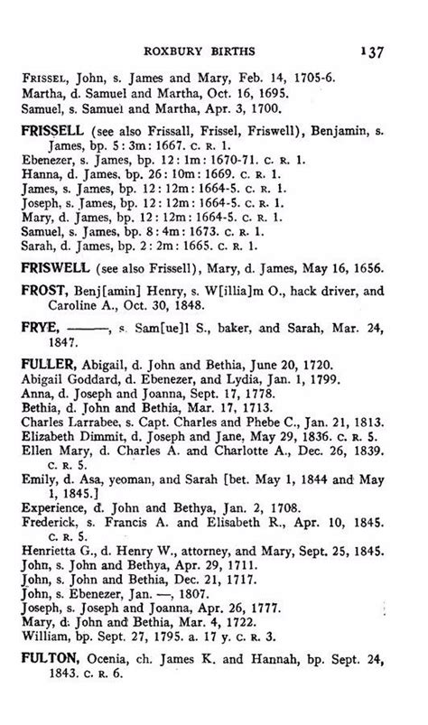Boston Marriages Vital Records Fresell 30 On The Dunbar Prisoners List Scottish Prisoners Of War